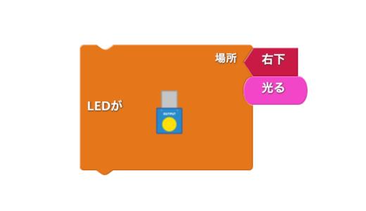 LEDブロックの使い方